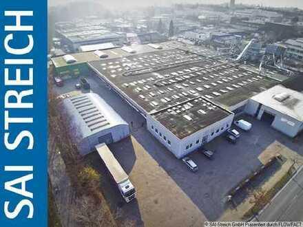 10.000m² Gewerbehalle in direkter Nähe zur Autobahn A30!