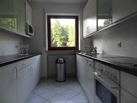 Schöne Wohnung am Bach und Waldrand