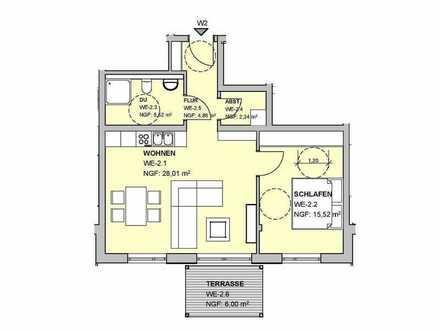 """Tolle 59 m² Wohnung im """"Osterbach Garten"""" - Oberkirchen"""