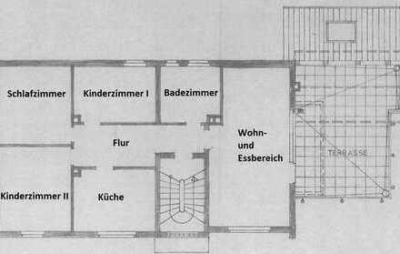 XXL-TERRASSE MIT FERNBLICK - 4-ZIMMERWOHNUNG IN SCHWEINHEIM