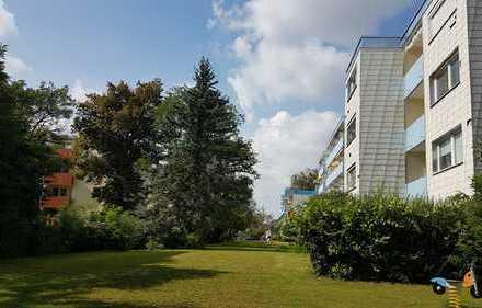 Tolle 3-Zimmer-Wohnung in Germering, Garage. Provisionsfrei! Attraktiv durch Erbpacht!