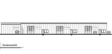 Halle mit Büro im attraktiven Gewerbegebiet *NEUBAU*