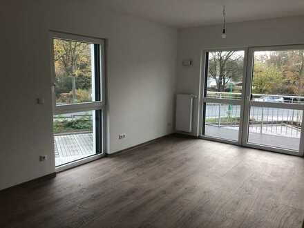 Erstbezug: barrierefreie 2 Zimmerwohnung mit Balkon