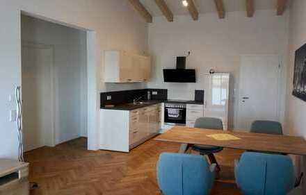 Loft-Wohnung im modernen Mehrfamilienhaus