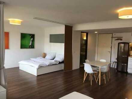 Geräumiges, hochwertig möbliertes 1 Zimmerappartement