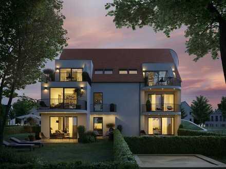 L LIVING - 1.OG Süd-Wohnung mit 3 Terrassen/ Balkonen