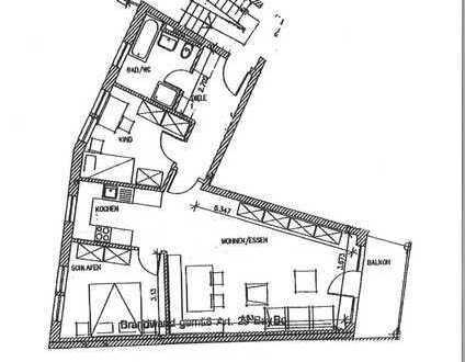 3 ZKB, Balkon und Tiefgarage