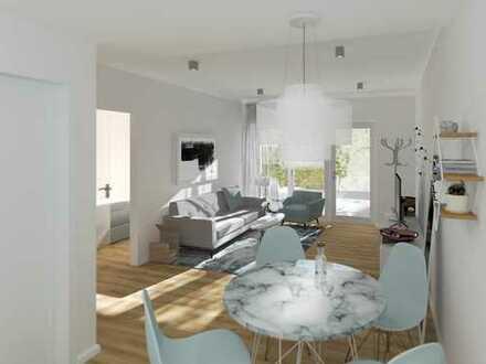 Zentral gelegene 2-Zimmer-Wohnung mit eigener Traum-Terrasse - jetzt bezugsfertig!