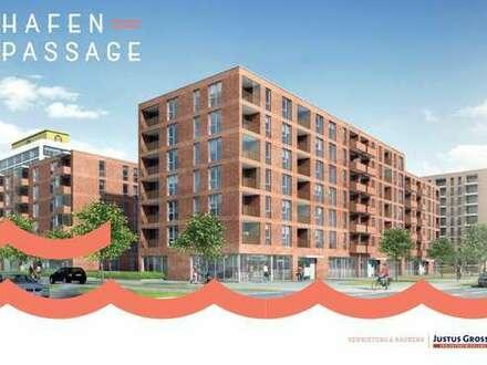 Neubauprojekt Hafenpassage! Eine Variation aus 2 und 3 Zimmer Wohnungen mit schönen Grundrissen.