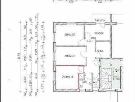 15m² Zimmer in 3er WG