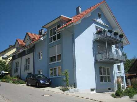 Gepflegte Dachgeschosswohnung mit vier Zimmern in Tengen