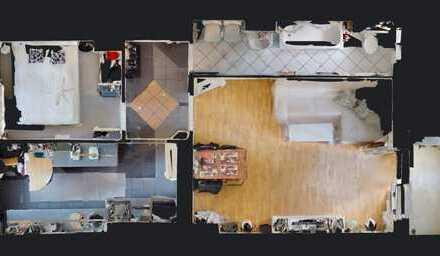 Modernisierte 1,5-Zimmer ETW in Britz