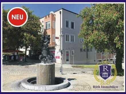Wohn- & Geschäftshaus im Zentrum von Trostberg mit Ausbaureserve