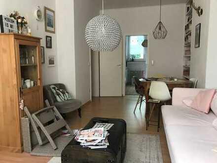 2 Zimmer Wohnung mit großer Terrasse auf der Lindenstraße