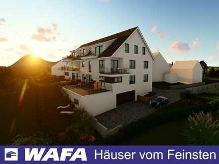 Traumhafte Dachgeschosswohnung mit Südwestausrichtung und toller Aussicht!
