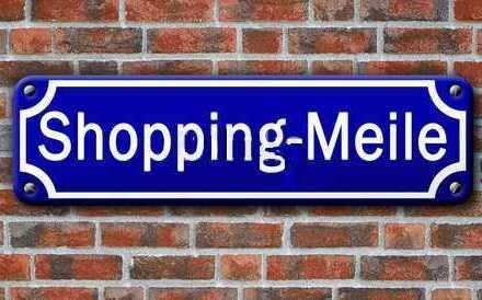 Auch beim Shoppen brauchen wir mal eine Pause
