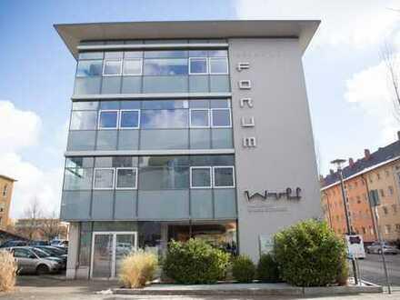 Bürofläche mit 283,40 m² im 1. Obergeschoss im Prinz-Karl-Forum