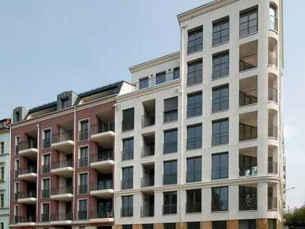 Erstbezug! 3-Zimmer-Wohnung mit Loggia und Balkon an der Elbpromenade