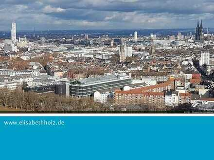 Wenn Wohnen zum Erlebnis wird - Maisonettewohnung im UNI - Center in Köln-Sülz