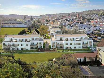 Barrierefreie Penthouse-Wohnung mit ca. 46 m² großem Wohn-/Ess-/Kochbereich und Terrasse