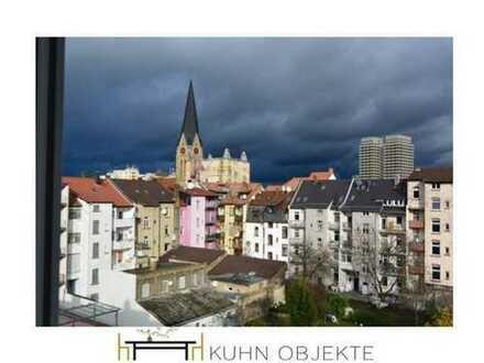 Schöne helle 2 ZK-Bad Wohnung mit Balkon