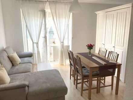 Sehr gepflegtes 1-Zimmer-Apartment mit Balkon und Tiefgaragenstellplatz