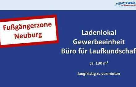 Zentrum - Fußgängerzone - Ladenlokal langfristig zu vermieten - Neuburg an der Donau - Ihr Immobi...