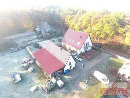 Wohnhaus im Außenbereich von Recke, ideal für Handwerker und Tierhalter.