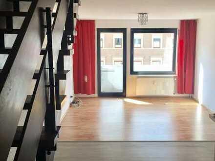 Maisonette-Wohnung in zentraler Lage in Innenstadt-West (3,5 Zi) von privat (WG-geeignet)