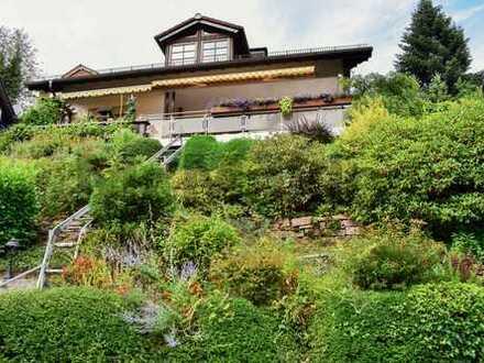 Ein Traum für Familien: Idyllisch gelegenes EFH mit exklusivem Naturblick nahe Heidelberg