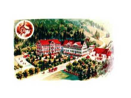 Historisches Gebäudeensemble und großes Bettenhaus (ehemaliges Seniorenzentrum)