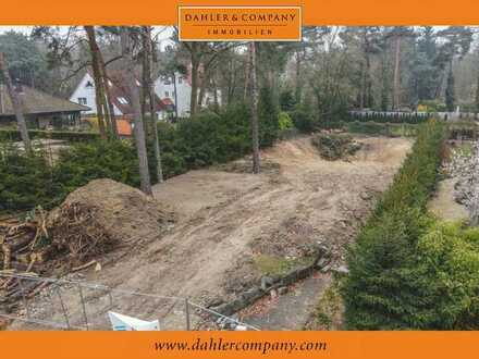 Building plot in the musician's quarter of Kleinmachnow with optional project planning
