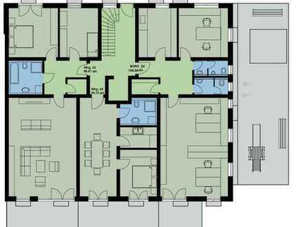 Büro im Erdgeschoß 109 m² Gewerbeeinheit Neubau mit Lagerraum