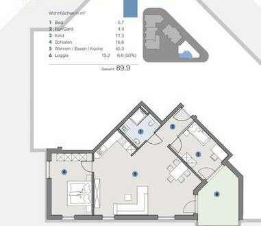 2. OG; Helle Wohnung für Paare und Familien - T5 Wohnareal - fortschrittlich, nachhaltig, innovativ