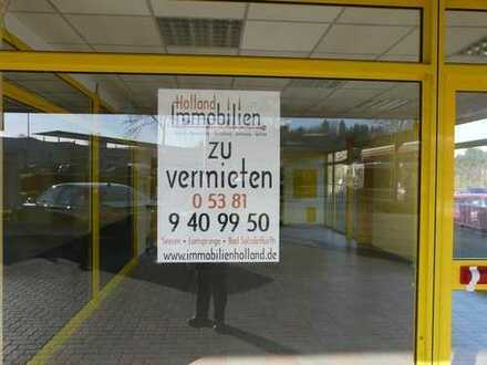 ZU VERMIETEN: Gewerbeflächen in der Braunschweiger Straße in Seesen