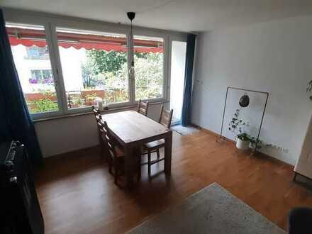 Helle 2-Zimmer-Wohnung mit 2 Balkonen