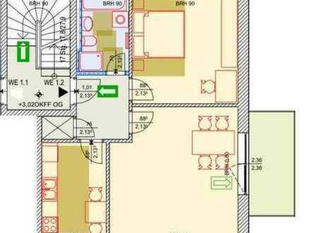 Bild_moderne 2 Raumwohnung ca 70 m² Wfl. mit Balkon, verfügbar ab 01.08.2019