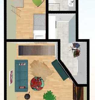Schöne kleine 2-Raumwohnung