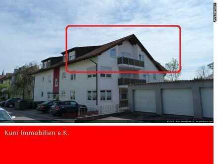 Solide 2 Zimmer Wohnung mit Balkon und TG-Stellplatz in Murr.