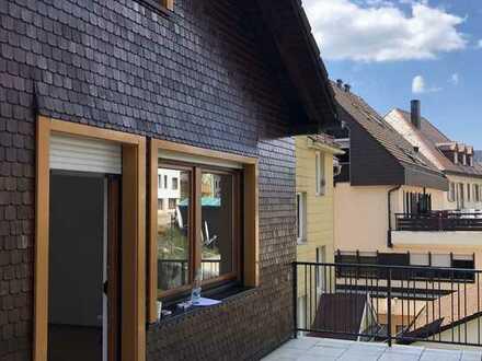 Modernisierte 3,5-Raum-Wohnung mit Terrasse in Furtwangen im Schwarzwald