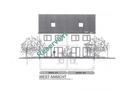 2 DHH in Filet-Lage - Neubau