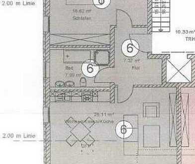 22_EI6333b Neuwertige, barrierefreie 2-Zimmer-Dachgeschoss-Eigentumswohnung mit Lift / Langquaid