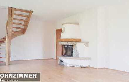 Freundliche 3 Zimmer Maisonett Wohnung mit Terasse und Kamin