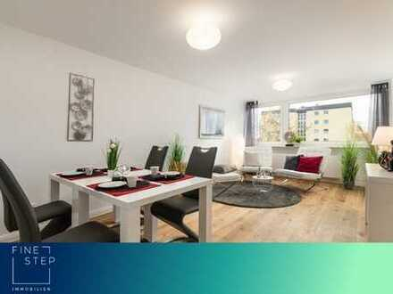 Provisionsfrei! Neu renovierte und attraktive 3-Zimmer Wohnung mit Balkon/Loggia