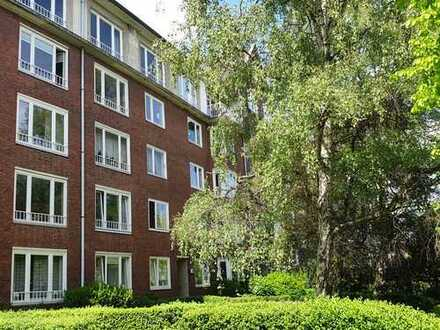 Grundbuch statt Sparbuch in bevorzugter Lage, vermietete 3-Zimmer Wohnung