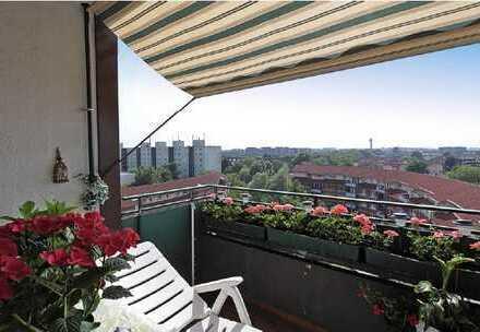 Schöne 4-Zimmer-Wohnung zur Miete in Düsseldorf - Ein grandioser Ausblick!