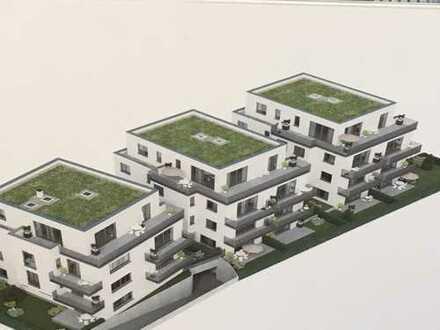 Erstbezug: stilvolle 3-Zimmer-Wohnung mit Terrasse und Gartenanteil in Friedberg