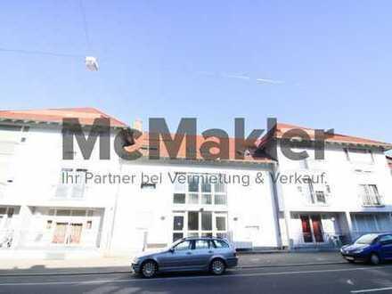 Solides Anlageobjekt nahe Saarbrücken - Vermietetes 1-Zi.-Apartment mit Loggia