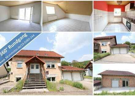 KAPITALANLAGE oder EIGENNUTZUNG - Wohnhaus mit drei abgeschlossenen Wohneinheiten und Doppelgarage
