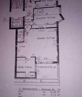 Geräumige, modernisierte 2-Zimmer-Wohnung mit gehobener Innenausstattung zum Kauf in Baden-Baden